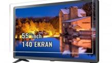 55 inch 140 TV Ekran Koruyucu